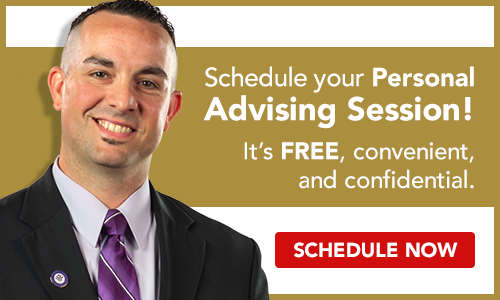 Schedule your personal advising session now!